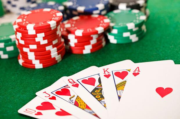 Is poker een geluksspel?